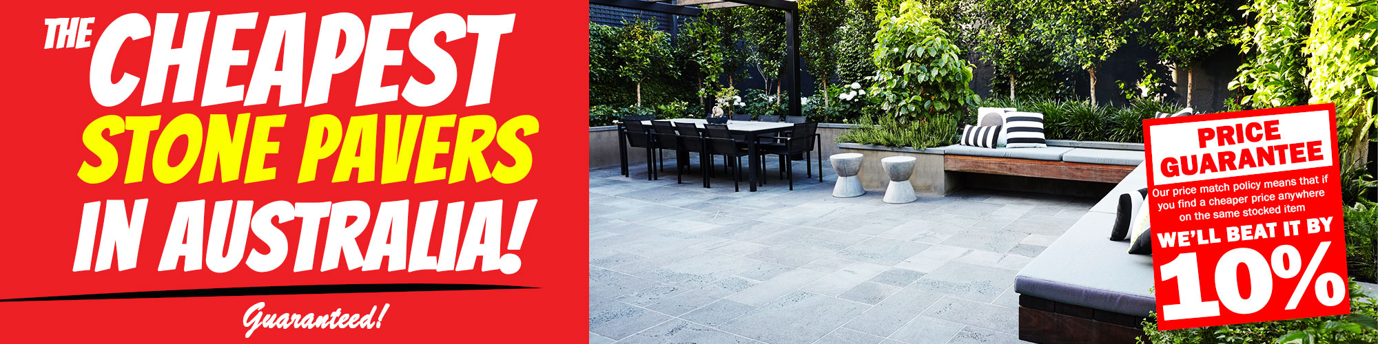 Bunnings Pavers tiles Melbourne