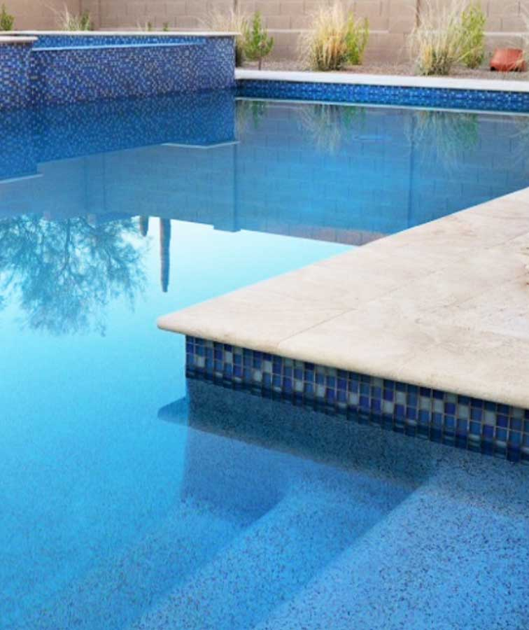 Ivory travertine pool coping sydney tiles melbourne white pool paving