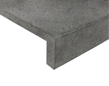 stone pavers pool coping tiles grey concrete paving