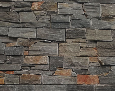 grey stone wall cladding gray feature wall natural melbourne