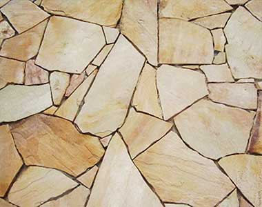 Sand stone Crazy Paving sydney light tiles cream tiling melbourne natural stone tile sandstone