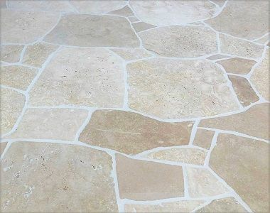 Image of travertine crazy paving cheap melbourne outdoor pavers natural stone tiles