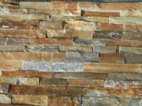 Stacked Stone Feature Wall Cladding