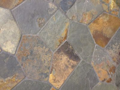 Rustic Crazy Paving on Mesh Sheets, Flagstone Paving on mesh sheets