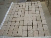 Cobblestone Pavers on Mesh Sheets