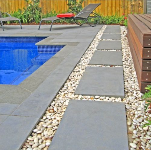 Bluestone pavers images photo 39 s of finished projects in for Pool paving ideas