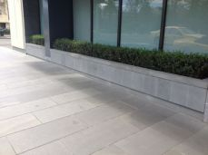 Outdoor Bluestone Pavers outside a building in Melbourne CBD