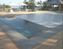 Bluestone Pool coping pavers Square Edge