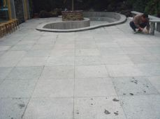 Sawn and lightly honed surface finish Bluestone Pavers