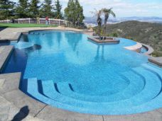 Enhanced Harkaway Bluestone pool Pavers