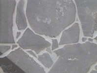 Australian bluestone crazy paving