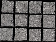 Flamed Raven Grey Granite Cobblestone Pavers