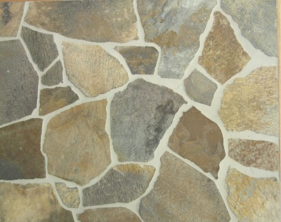 Crazy Paving Quartz, Flagstone Paving
