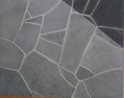 Barossa grey slate crazy paving