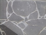 crazy paving bluestone