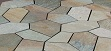 Crazy Paving on Mesh, Quartz Crazy Paving on Mesh