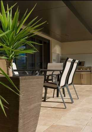 Brisbane Travertine Pavers at Eagle Farm