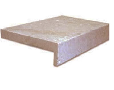Pool Coping Noce Travertine Drop Face Tiles