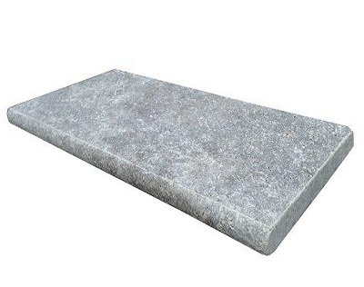 Pool Coping Silver Travertine Bullnose Tiles