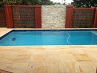 Teak Sandstone Drop Face Pool Coping Tiles