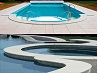 White Granite Pool Coping, White Granite Pool Pavers