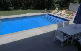 Matching Pool Coping and Pool Pavers