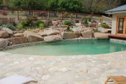Natural Split Sandstone Crazy Paving Pool Paving