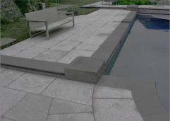 Bluestone Bullnosed Pool Coping