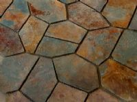 crazy paving pool pavers