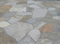 Quartzite Crazy Paving pool pavers