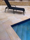 Teak Sandstone Pavers and Pool coping