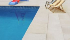 Honed surface Sandstone non slip pool coping and pavers