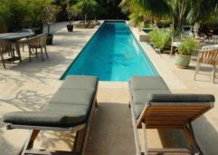 Honed non slip Sandstone pool coping pavers