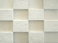 White Cubism Stack Stone