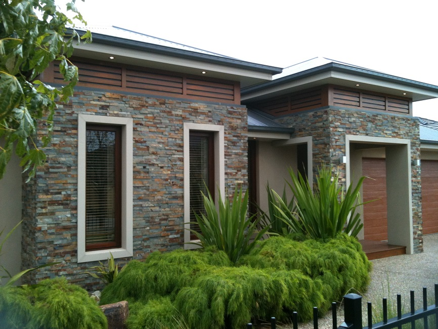 Stack stone cladding panels varieties available for for Stacked stone house