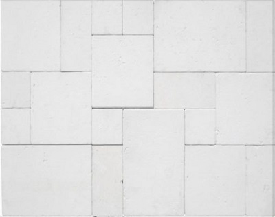 White Limestone French Pattern Tiles