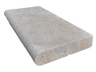 Travertine Ivory Pool Coping Tiles