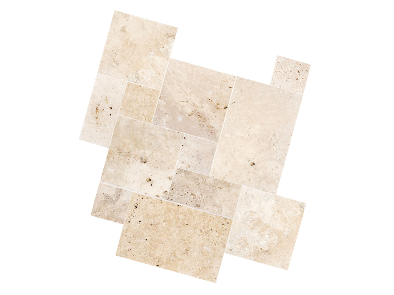 IVORY FRENCH PATTERN TRAVERTINE TILES SALE<br/> <font color='red'>$49m2 inc GST</font>