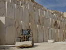 Turkish travertine quarry
