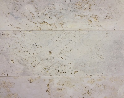 White Sawn Travertine Tiles Project